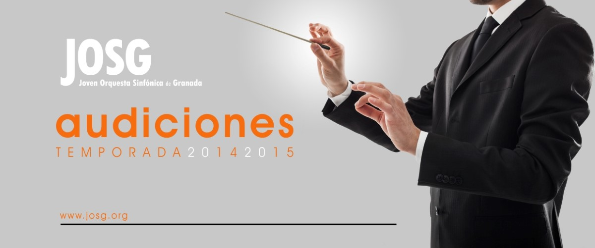 Convocatoria de Audiciones 2014-2015